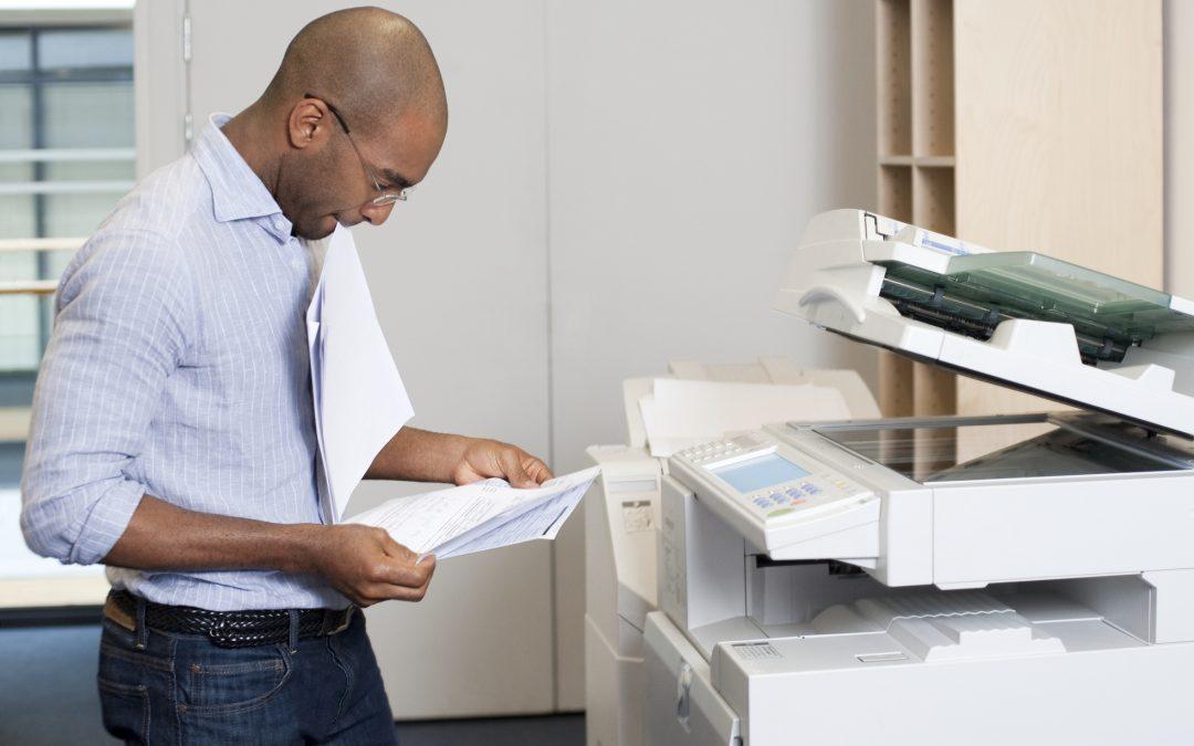 Zasady korzystania  z kserokopiarki